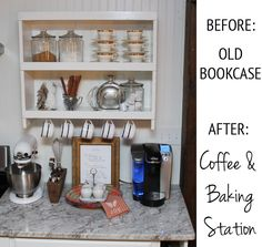 coffee and baking station