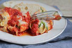 Spinach-Ricotta Stuffed Shells | Baked by Rachel