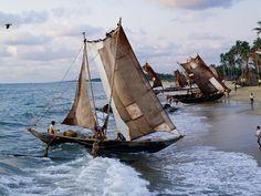 sri lanka - Inspiration for Sail Boat statue