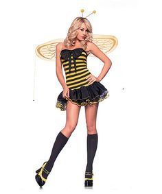 This Bumble Bee Costume Set - Women is perfect! #zulilyfinds
