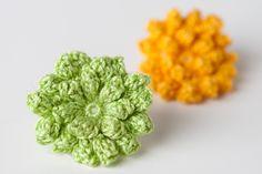 $2.50 Dahlia flower crochet pattern