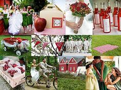 red apple theme