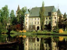 Hagenau-Castle-Austria princess, mansion, dream homes, future house, castles, lake, place, dream houses, austria