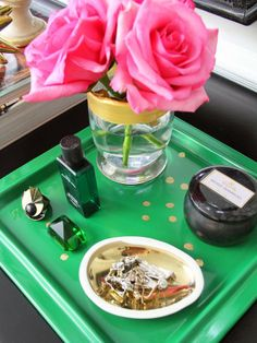 Personalized Constellation Vanity Tray : Decorating : Home & Garden Television