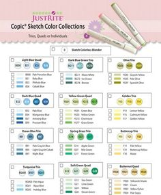 Copic Color Collections
