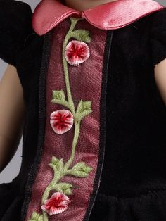 from our 2013 Fall/Holiday Preview, close up: Patsy Blush, Berry, and Velvet - Outfit Only | Tonner Doll Company $74.99