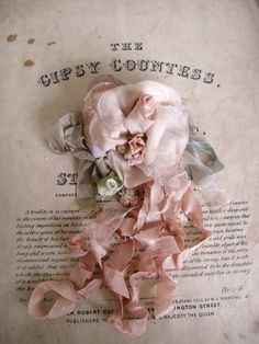 Vintage millinery Rose ❥