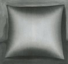 Gerhard Richter, Kissen (Pillow) 1965, 100 cm x 108 cm, Oil on canvas