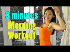 8 Minutes Morning Workout - Lose 2lbs Per Week - YouTube