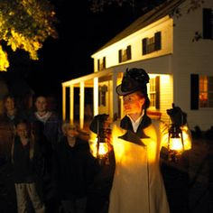 Step back in time for a special lantern light tour of Mystic Seaport.Through Dec. 27, explore the 19th Century village as it was on Christmas Eve 1876 and watch a heartwarming live-action holiday performance unfold before your eyes.