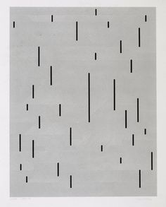 Anni Albers - With Verticals, 1946/1983