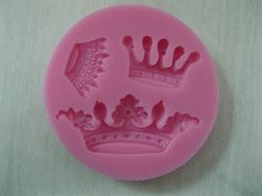 Free Shipping New Arrival imperial crown shaped 3D silicone cake fondant mold, cake decoration tools, soap, candle moulds-in Cake Molds from...
