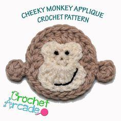 Cheeky Monkey Amigurumi Crochet Pattern : Crochet - Monkeys ! on Pinterest Crochet Monkey, Monkey ...