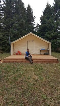 Tent Fly Wall Tents Pinterest Canvas Wall Tents