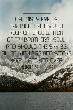 The Hobbit - Ed Sheeran - I See Fire Lyrics // Why am I pinning this? It is actually making me tear up. X(