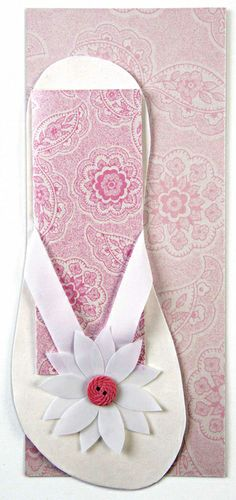 Meri Meri - Flower Flip Flop Invitation