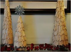 Easy Christmas trees
