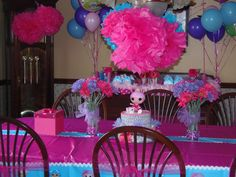 Abby's 5th birthday party <3