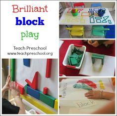 Brilliant block play by Teach Preschool