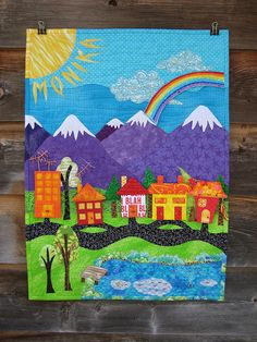 inspiration for my house #quilt i will make one day