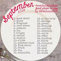 September 2014 photo challenge