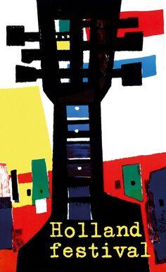 Dick Elffers - Holland Festival 1962