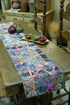 Bali Bamboo by Natalie Barnes of Beyond the Reef, featured in Quilters Newsletter's Best Fat Quarter Quilts 2012