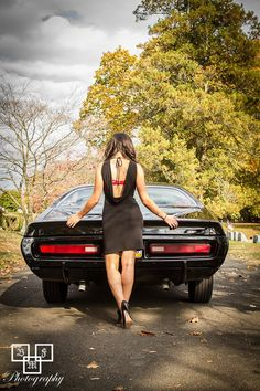 Miss Mopar and The Little Black Dress Facebook.com/MissMopar