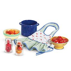American Girl® Accessories: Kit's Produce & Preserves