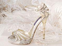 Cute fancy shoes / zapatos de novia