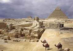 Egypt. I must go there some day!