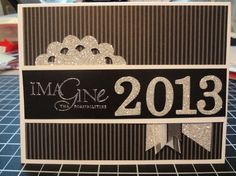 Glitzy New Years Card