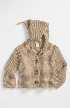 Stem Baby 'Lofty' Hooded Cardigan (Infant) | Nordstrom