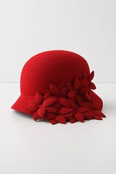 A red pretty hat