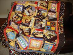 "My Mary Engelbreit ""Queen of Everything"" quilt."