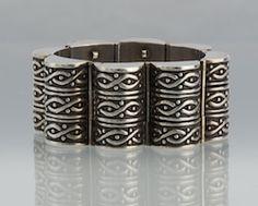 Los Castillos Mexican Sterling Silver Bracelet