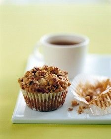 Pear and Granola Muffins