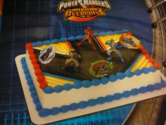 power rangers cakes | pin power rangers cake picture to pinterest