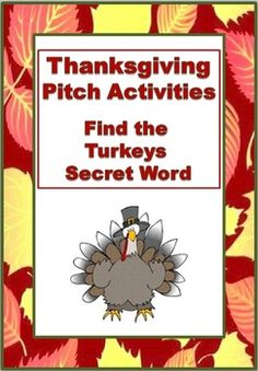 Re-enforce knowledge of treble and bass pitch with these fun Thanksgiving Turkey Pitch Activities