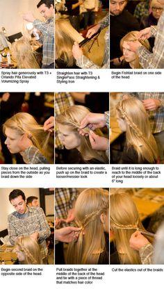 half up french braid french braids, orlando pita, bread, crown, beauti, hairstyl, fishtail braids, bang, hair tips