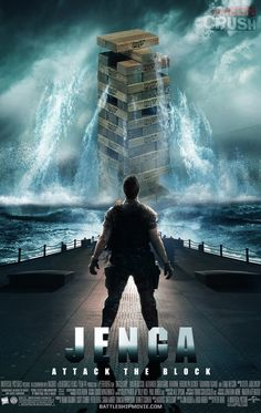 Battleship isn't the only childhood game to be able to make a badass movie: introducing... JENGA!