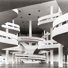 sao paulo, bienal, architectur, ciccillo matarazzo, são paulo, arquitetura, oscarniemey, oscar niemeyer, matarazzo pavilion