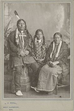 Chief Gall and Family