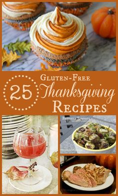 {Gluten-Free} Thanksgiving Recipe Roundup