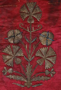 Antique Textiles Turkish Embroidery