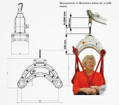 Molift Nomad Lifter Dimensions. Available in the UK from Dolphin Lifts.