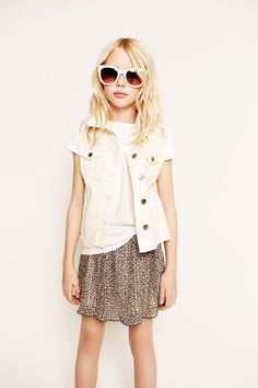 Chic Little Girl Outfit