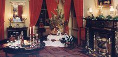 historic holiday home decor 1800s !