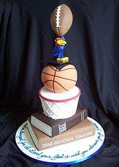 Darian's graduation cake por RebeccaSutterby