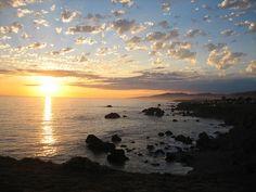 Sonoma Coast at Sunset, California